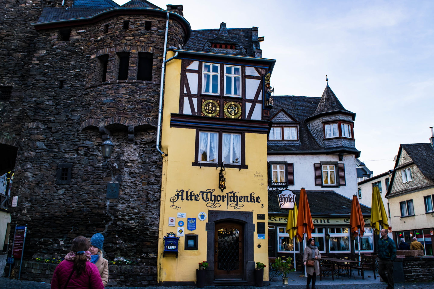 Cochem is full of half-timbered buildings, so you'll definitely get your fairy tale German town fix.