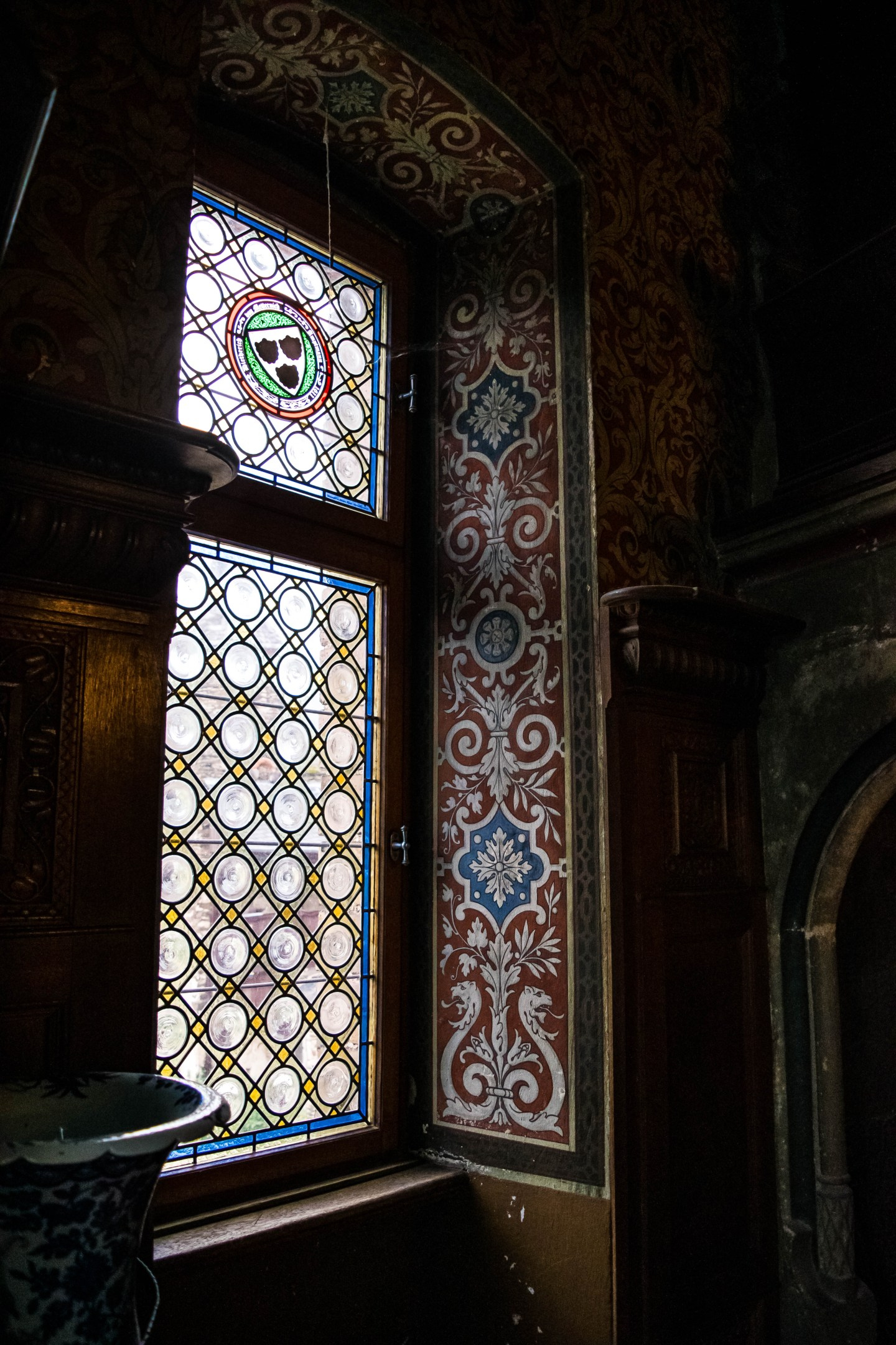 reichsburg inside window