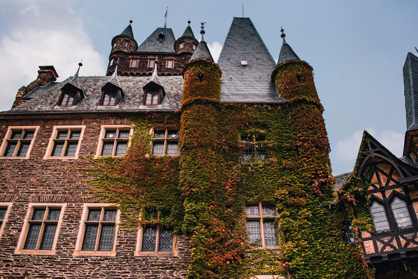 Cochem Castle is stunning in the autumn