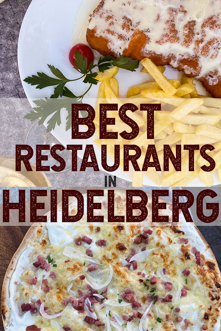 Best restaurants in Heidelberg PIN