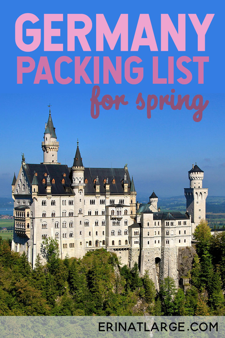 germany packing list for spring PIN