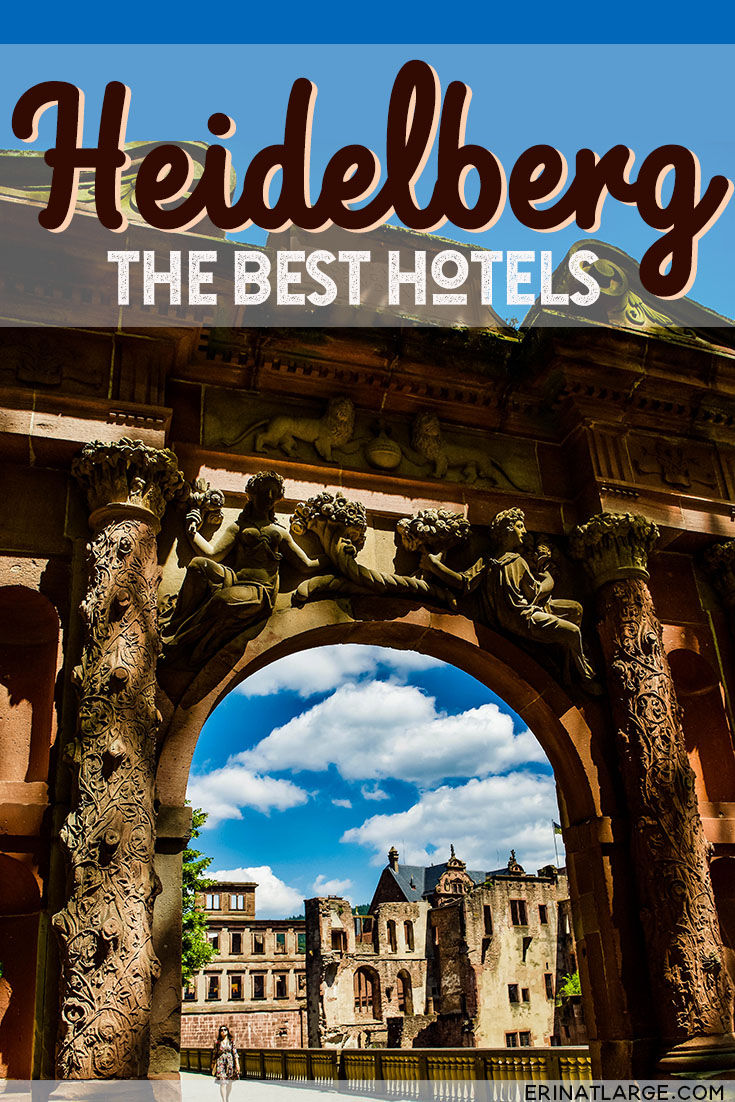 The best hotels in Heidelberg, Germany, for every budget. Explore our storybook German town with its gorgeous and romantic castle ruins. #germany #travel