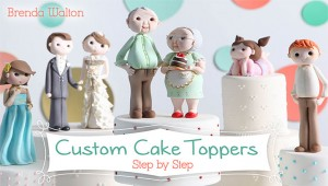 Custom Cake Toppers Craftsy Class Discount | ErinBakes.com