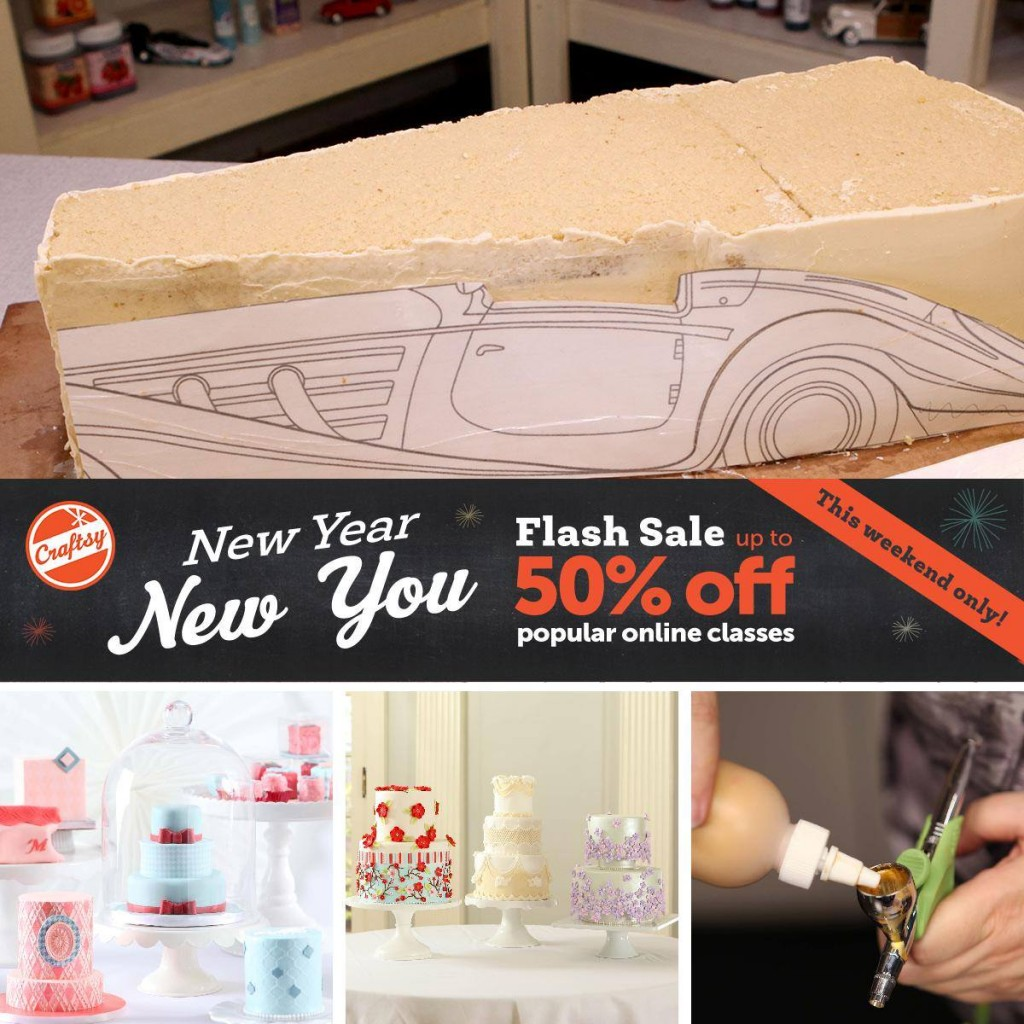 Pssst….Craftsy Flash Sale!
