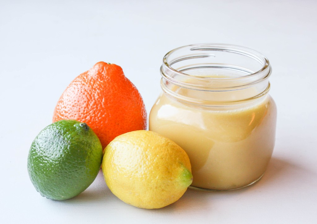 (Magical) Microwave Triple Citrus Curd