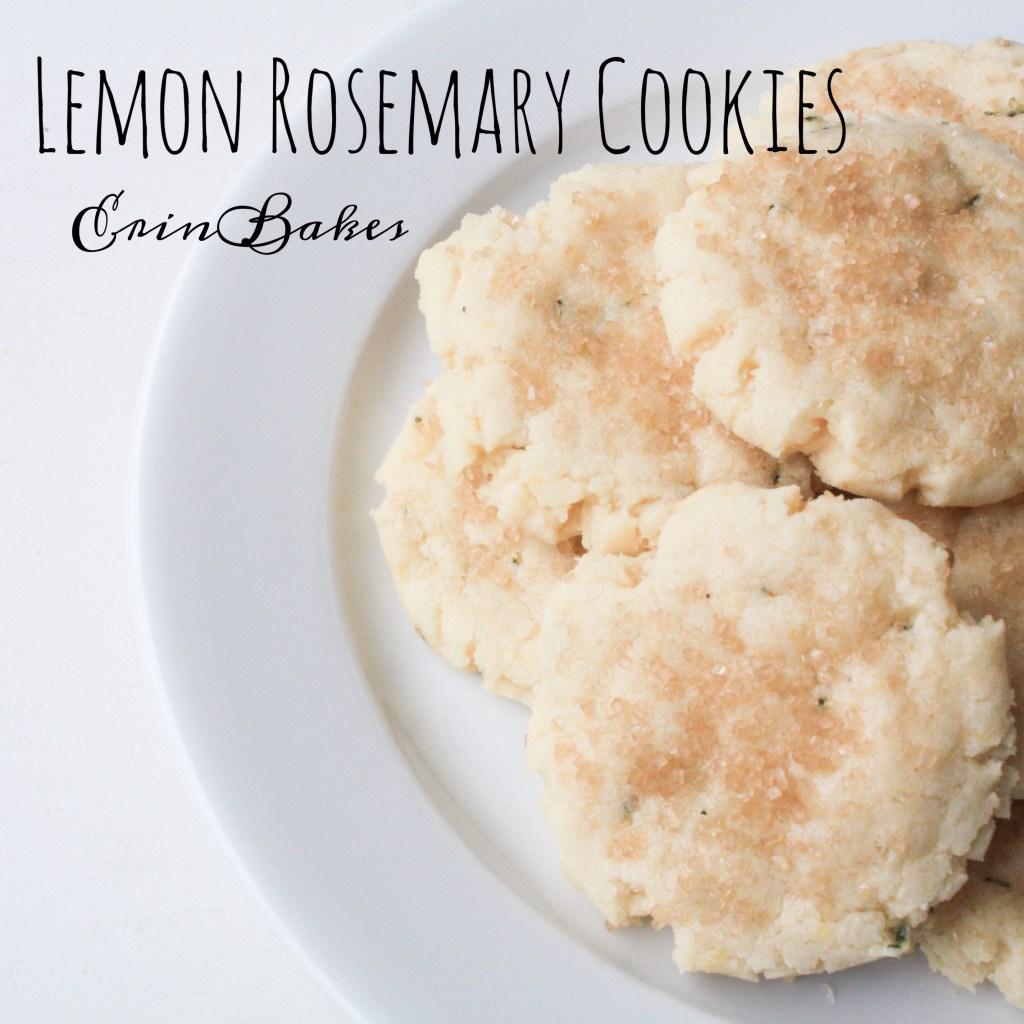 Lemon Rosemary Cookies | Erin Bakes