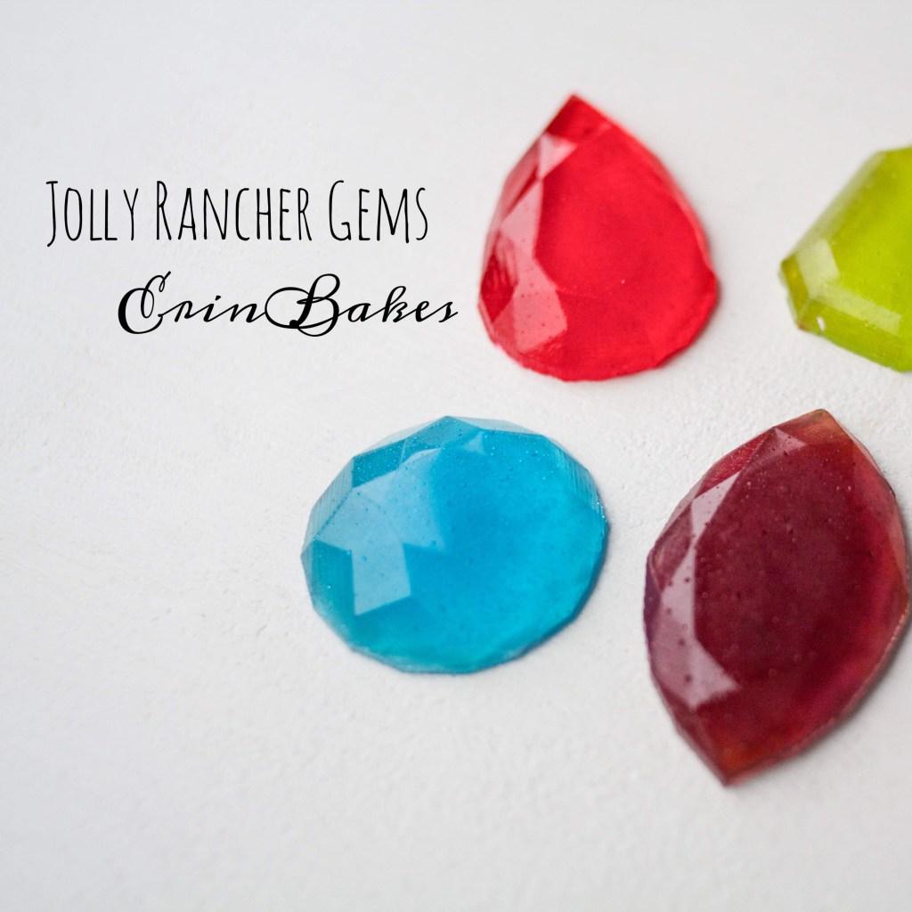 Easy Jolly Rancher Gems | Erin Bakes