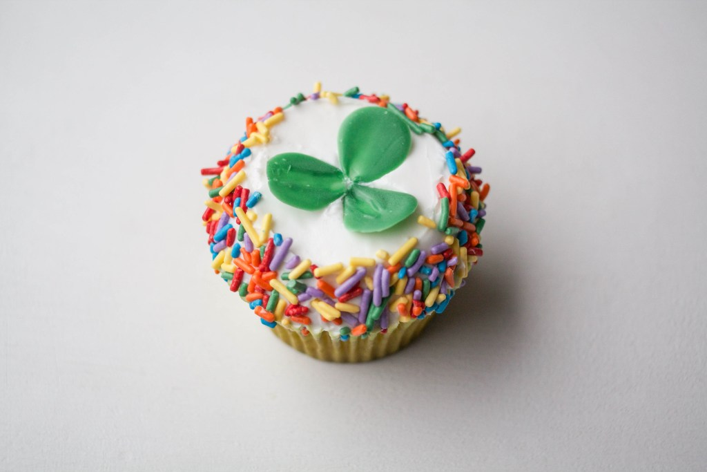 Chocolate Shamrock Cupcakes