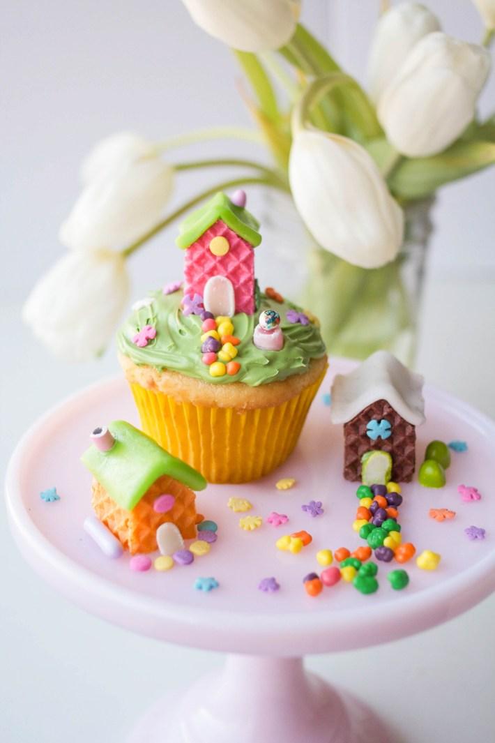 Wafer Cookie Fairy Houses | Erin Gardner | Handmade Charlotte