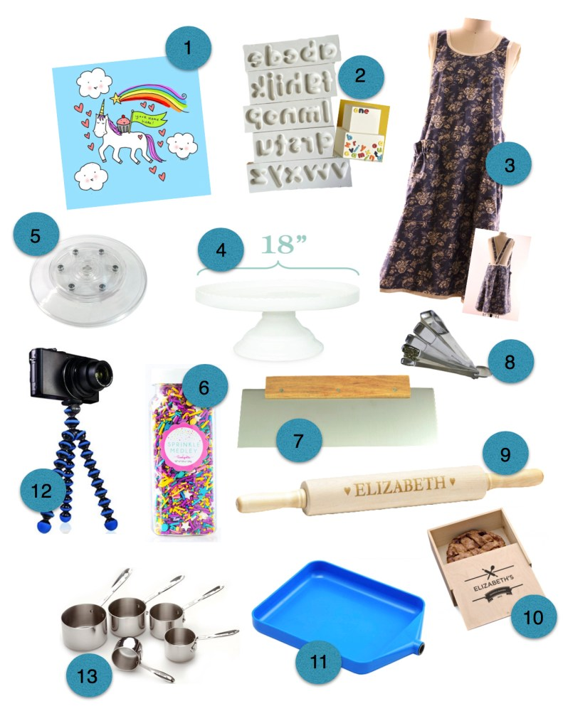 Baker's Dozen of Unique Gift Ideas for Bakers and Cake Decorators