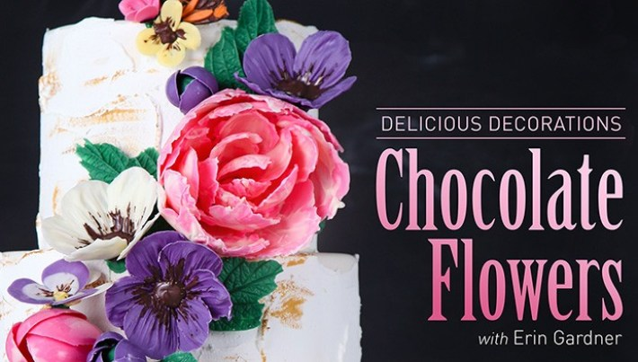 50% Off Link, Delicious Decorations: Chocolate Flowers