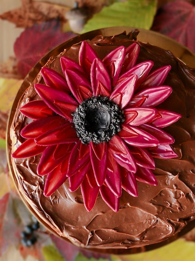 Chocolate Flower Tutorial | Chocolate Sunflower | Erin Gardner