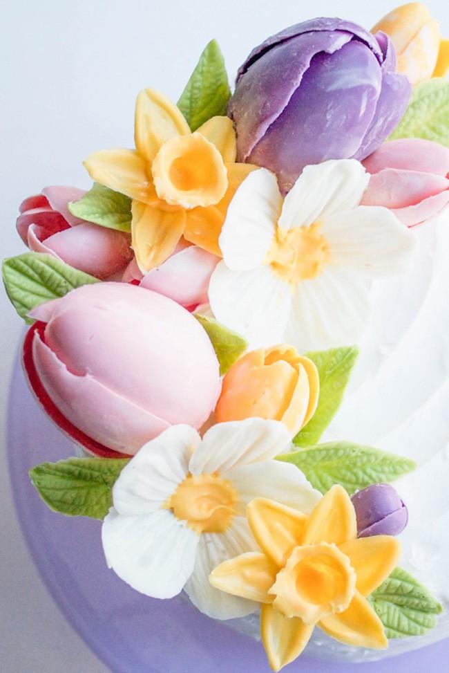 Chocolate Flower Tutorial | Chocolate Daffodil | Erin Gardner
