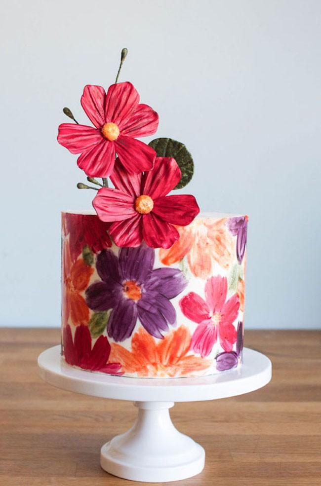Chocolate Wrap Cake   Erin Gardner   ErinBakes.com