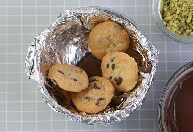 Adding the cookie petals. | Erin Gardner | Erin Bakes