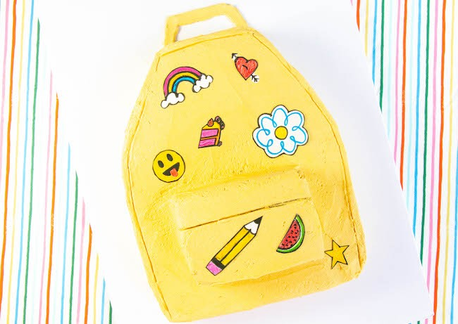 Back-To-School Sheet Cake Backpack | Erin Gardner | Erin Bakes