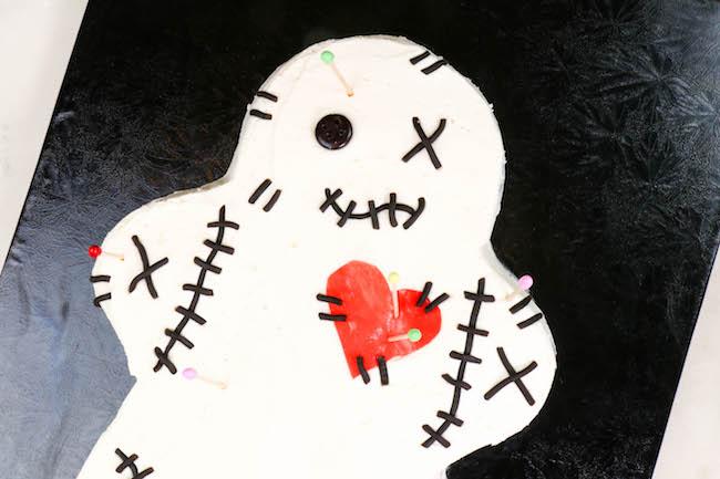 Voodoo Doll Cake | Erin Bakes