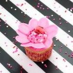 Candy Melt Flower Valentine's Day Cupcake | Erin Gardner | Erin Bakes x Wilton