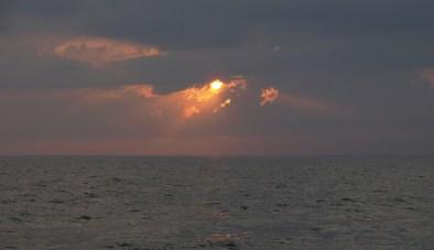Sunset over Lake Michigan, Whitehall, MI