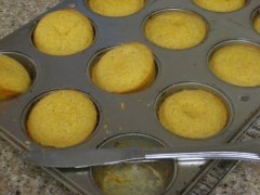 Meanwhile...Make Corn Muffins
