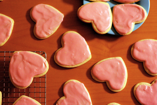 Hungry Heart Cookies