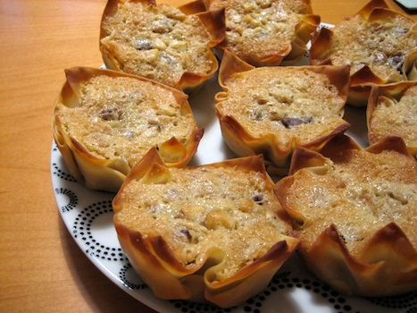 Toll House Pie Tarts
