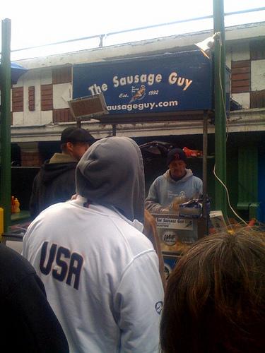Sausage Guy via iPhone