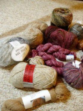 shawl yarns