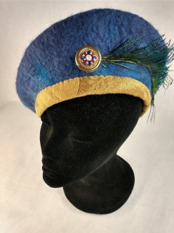 hat side view