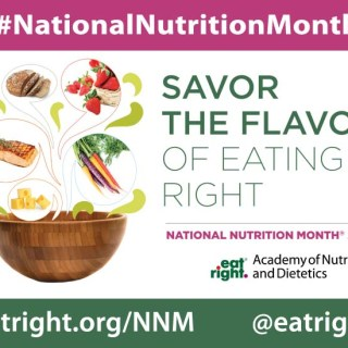 March: National Nutrition Month