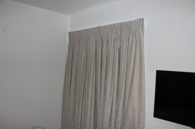 curtains hung on silent gliss 3900