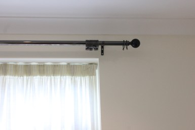 curtain metal pole fitters