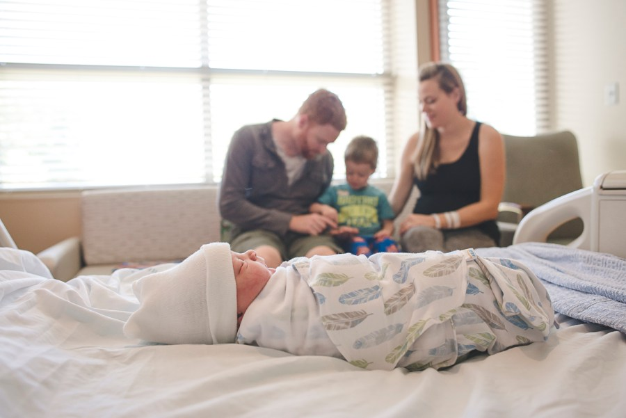 Hospital Birth Photo by Erin DuPree a Seattle Birth Photographer