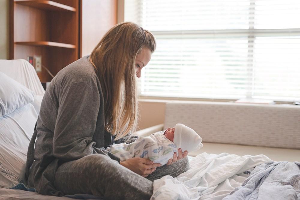 Hospital Birth Photo by Erin DuPree a Seattle Birth Photographer