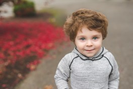 Photo of a handsome young boy by Bellevue family photographer