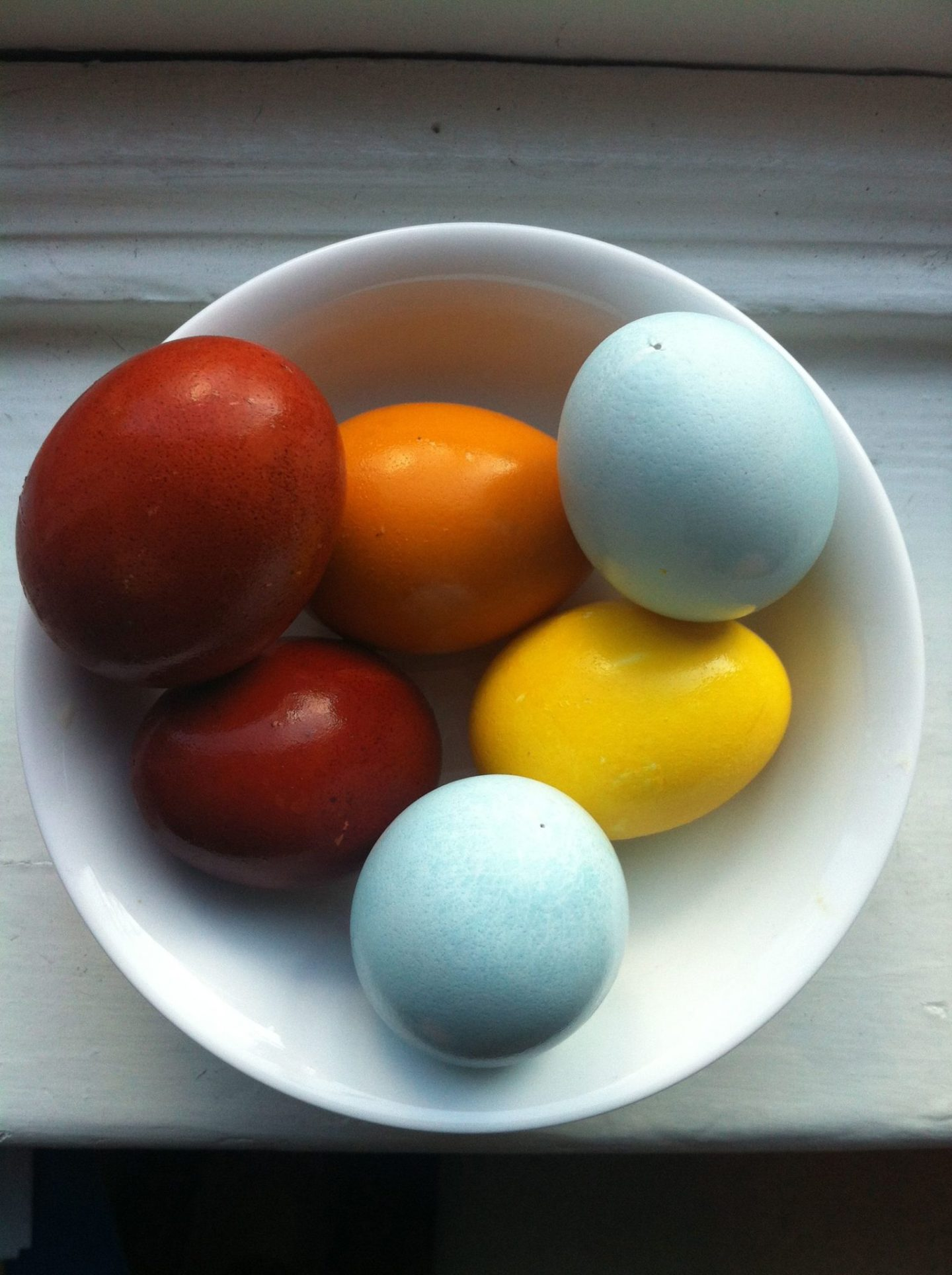 Naturally dyed easter eggs | Erin at Large