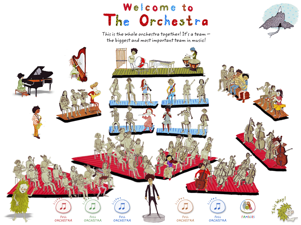 Naxos Records' My First Orchestra app