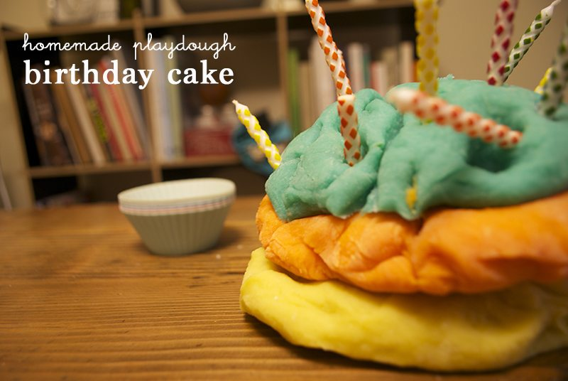 playdough birthday cake 2 titled