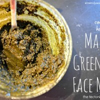 DIY Matcha Mask