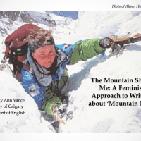 The Mountain Sheds Me: A Feminist Approach to Writing about 'Mountain Men' (FreeX 2016)