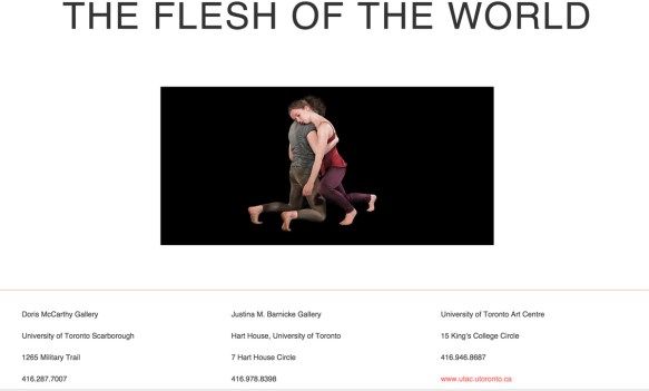 Erin Gee - Flesh of the World - http://www.fleshoftheworld.ca