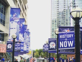 Blue Jays game in August! #ourmoment
