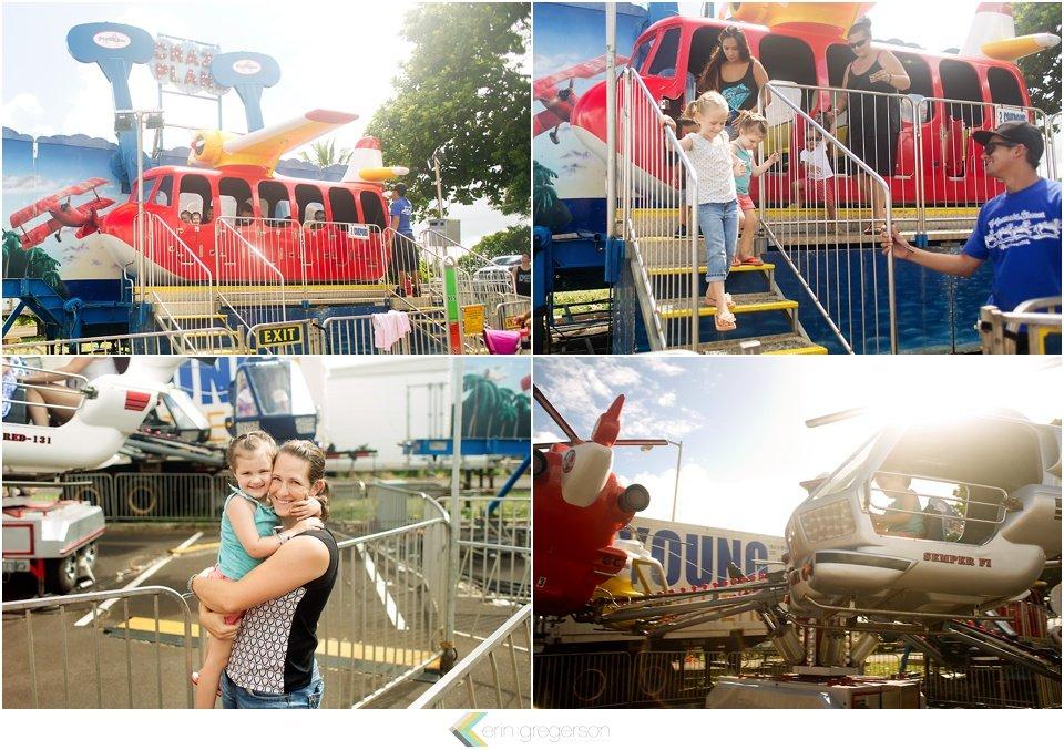 Kauai family activities at the county fair by Erin Gregerson Photography