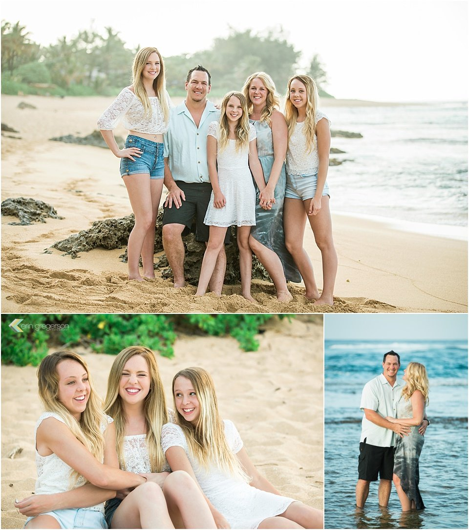 Kauai family photos by Erin Gregerson Photography