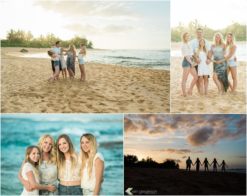 Kauai Family photos-Tunnels Beach