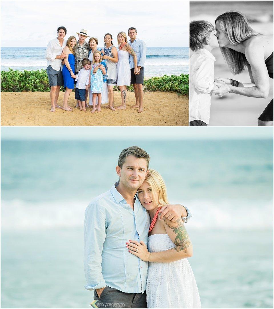 Kauai Anniversary family photos