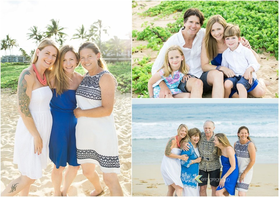 family photos Kauai anniversary