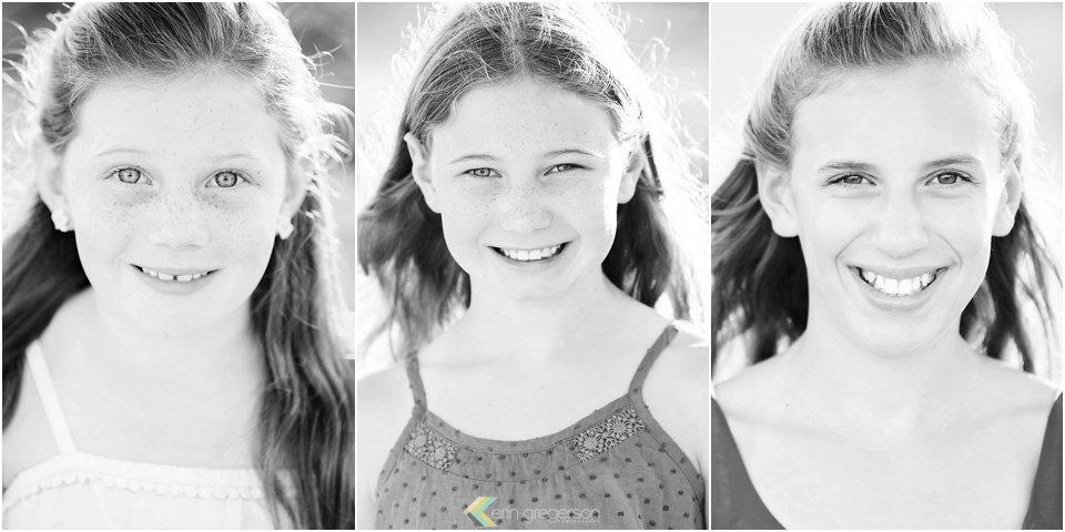 black and white collage three sisters Kauai