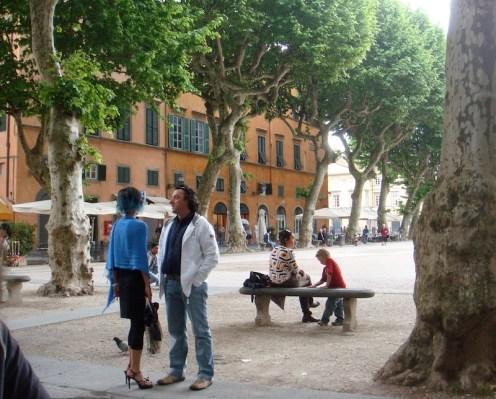 Lucca main square
