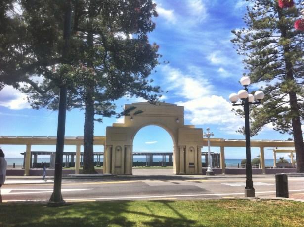 Napier. The Promenade, Marine Parade.